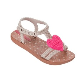Ipanema Kids Ipanema Kids-Sandale/Flip Flop, Brun et Rose/Brown Pink