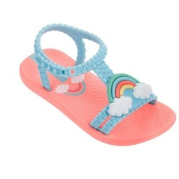 Ipanema Kids Ipanema Kids-Sandale/Flip Flop, Pêche et Bleu/Peach and Blue