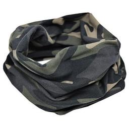 L&P L&P - Foulard en Coton Infinity/Infinity Cotton Scarf, Camouflage/Camo