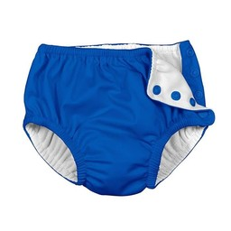 Iplay couche de piscine swimsuit diaper marine posies for Blue piscine hannut