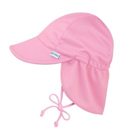 IPlay Iplay - Chapeau à Protection Solaire Flap/Flap Sun Protection Hat, Rose/Pink