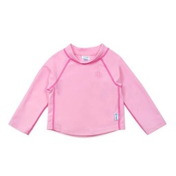 IPlay Iplay - Chandail de Piscine Rashguard Manches Longues/Long Sleeves Rashguard Pool Sweater, Rose Pâle/Light Pink