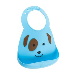 Make my day Make my Day - Bavoir en Silicone/Silicone Bib, Chiot/Puppy Love