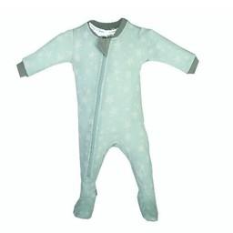 Zippy Jamz Zippy Jamz - Pyjama à Pattes/Footie, Slumber Star, Sarcelle/Teal