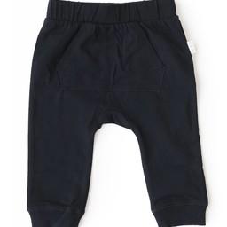 Miles Baby Miles Baby - Pantalon de Tricot pour Bébé/Baby Pant Knit, Noir/Black