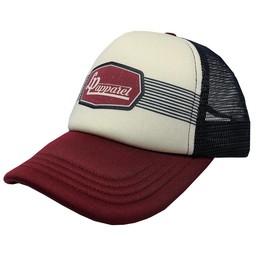 L&P l&P - Casquette Colorado/Colorado Cap, Bourgogne, Blanc et Marine/Burgundy, White and Navy