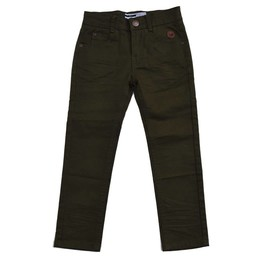 L&P L&P - Pantalon Coupe Étrote/Skinny Cut Pants, Vert Camouflage/Camo Green