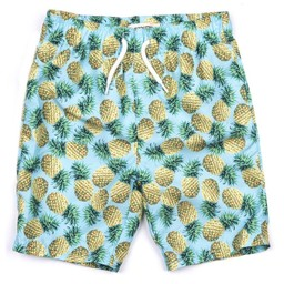 Appaman Appaman - Maillot Short/Swim Trunks, Ananas/Pineapple