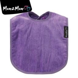 Mum 2 Mum Mum 2 Mum - Bavoir Super Absorbant/Wonder Bib, Mauve/Purple