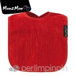 Mum 2 Mum Mum 2 Mum - Bavoir Super Absorbant/Wonder Bib, Rouge/Red