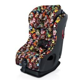 Clek Clek FLLO - Banc d'auto Tissu Crypton Premium/Car Seat Premium Crypton Fabric, Tokidoki Unicorno Disco