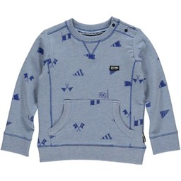 Tumble n Dry Tumble'N'Dry -Chandail Manches Longues Nander/Nander Longs Sleeves T-Shirt,Bleu/Blue