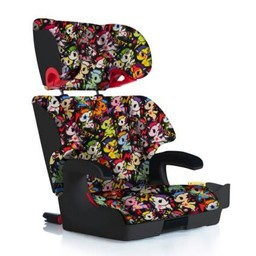 Clek Clek - OOBR Siège d'appoint avec Dossier, Tissu Crypton Premium/Clek OOBR Fullback Booster Seat, Premium Crypton Fabric, Tokidoki Unicorno