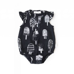 Miles Baby Miles Baby - Combinaison en Tricot pour Bébé/Baby Playsuit Knit, Noir/Black