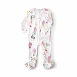 Miles Baby Miles Baby - Dormeuse en Tricot pour Bébé/Baby Sleeper Knit, Blanc Cassé/Off White