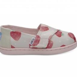 Toms Toms - Chaussures Classique/Classic Shoes, Fraises et Crème/Strawberries and Cream