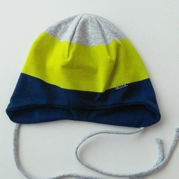 Broel Broel - Chapeau Zbych/Zbych Hat, Marine, Lime et Gris/Navy, Lime and Grey