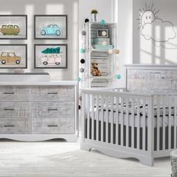Natart Juvenile Nest Matisse - Commode Double à 6 Tiroirs/Double Dresser