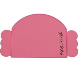 Guzzie + Guss Guzzie + Guss - Napperon en Silicone/Silicone Placemat, Rose/Pink