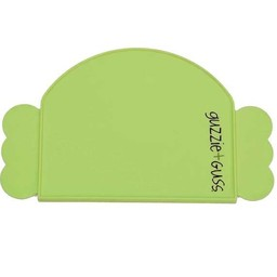 Guzzie + Guss Guzzie + Guss - Napperon en Silicone/Silicone Placemat, Vert/Green