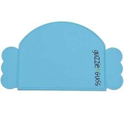 Guzzie + Guss Guzzie + Guss - Napperon en Silicone/Silicone Placemat, Bleu/Blue