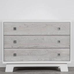 Dutailier Dutailier Pomelo - Commode à 3 Tiroirs/3 Drawer Dresser, Gris Rustique/Rustic Grey