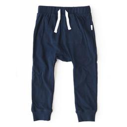 Miles Baby Miles Baby - Pantalon en Tricot pour Bébé/Baby Pant Knit, Marine/Navy