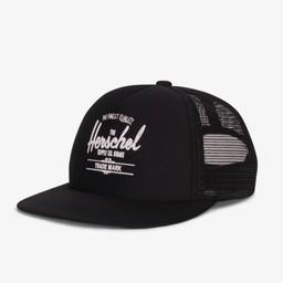 Herschel Herschel - Casquette Junior Whaler/Whaler Cap Youth, Noir/Black