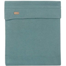 Noppies Noppies - Couverture de Tricot Nola/Nola Knit Blanket, Vert Foncé/Dark Green