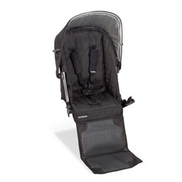 UPPAbaby UPPAbaby Vista - Siège Auxiliaire pour Poussette (ANCIEN MODÈLE 2009-2014)/Rumble Seat for Stroller (OLD MODEL 2009-2014), Noir/Black