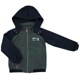 L&P L&P - Manteau Style Urbain/Urban Style Jacket, Vert Camo et Noir/Green Camo & Black