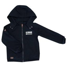 L&P L&P - Manteau Style Urbain/Urban Style Jacket, Noir/Black