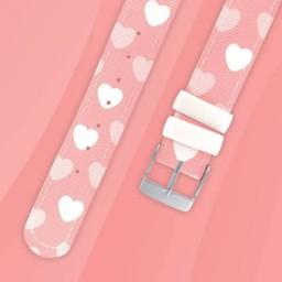 Twistiti Twistiti - Bracelet de Montre/Watch Strap, Coeur/Heart