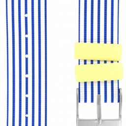 Twistiti Twistiti - Bracelet de Montre/Watch Strap, Marinière Bleu/Blue Sailor