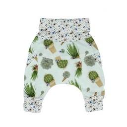Little Yogi Little Yogi - Pantalon Évolutif/Evolutive Pants, Cactus en Pot/Cactus Cone