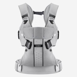 BabyBjörn BabyBjörn - Porte-Bébé One/One Baby Carrier, Filet Gris/Silver Mesh