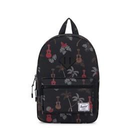 Herschel Herschel - Sac à Dos Heritage Junior/Heritage Backpack Youth, Noir/Black Ukulele