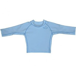 IPlay Iplay - Chandail de Piscine Rashguard Manches Longues/Long Sleeves Rashguard Pool Sweater, Bleu Pâle/Light Blue