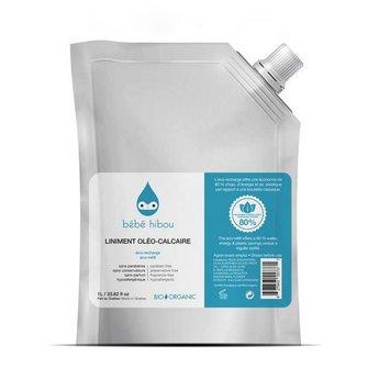 Bébé Hibou Bébé Hibou - Liniment Oleo-Calcaire Recharge 1 Litre/Liniment Oleo-Calcaire 1 Litre Refill Hibou