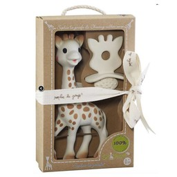 Sophie la Girafe Sophie la Girafe - Sophie la Girafe et Jouet de Dentition So'Pure/So'Pure Sophie la Girafe and Chewing Rubber