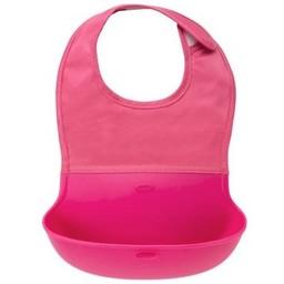 OXO OXO - Bavoir Pliable/Bib, Rose/Pink