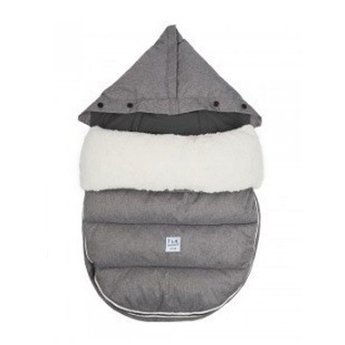 7 A.M Housse LambPOD + Base de/by 7A.M., Gris/Heather Grey