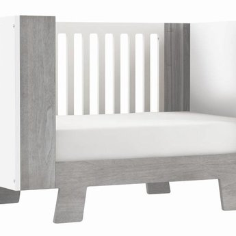 dutailier pomelo lit de b b convertible convertible crib gris rustique rustic grey. Black Bedroom Furniture Sets. Home Design Ideas