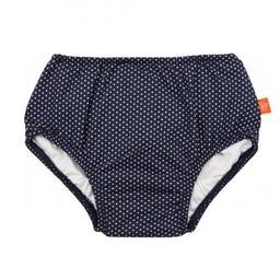 Lassig Lässig - Couche de Piscine/Swim Diaper, Pois Marine/Navy Polka Dots
