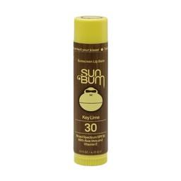 SunBum SunBum - Baume à Lèvre FPS 30/SFP 30 Lip Balm, Lime/Key Lime