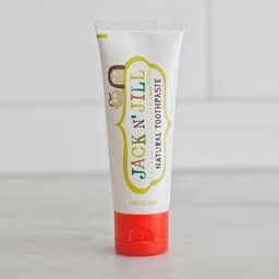 Jack&Jill Jack & Jill - Pâte à Dents Naturelle aux Fraises Biologiques/Natural Toothpaste Organic Strawberry