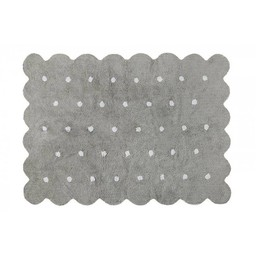 Lorena Canals Lorena Canals - Tapis Lavable Biscuit/Cookie Washable Rug, Gris/Grey