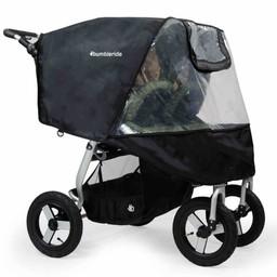 Bumbleride Bumbleride - Protection Contre la Pluie pour Poussette Indie Double/Indie Twin Stroller Rain Cover