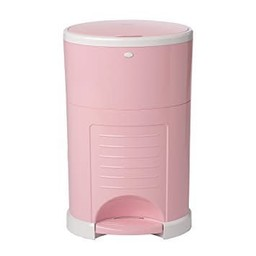 Dékor Dékor - Poubelle à Couches Plus/Plus Diaper Disposal, Rose Doux/Soft Pink