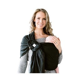 Lillé Baby Lillé Baby - Écharpe Ajustable/Ring Sling, Noir Magie/Magic Black